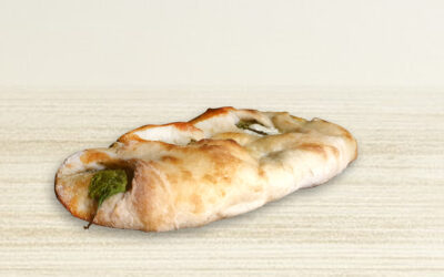 Pide (Cheese and Spinach)