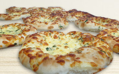 Turkish Bread (Garlic and Cheese)